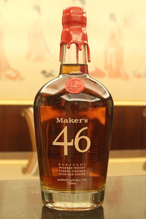 (現貨) Maker's 46 Bourbon Whisky 美格46 波本威士忌 (750ml 47%)