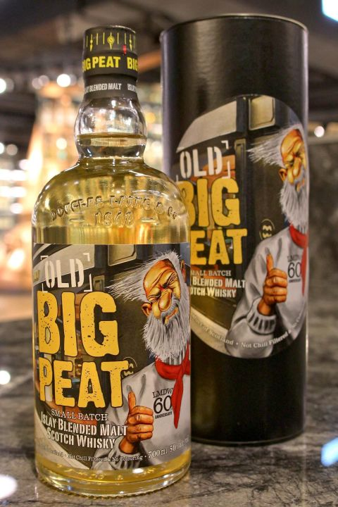 (現貨) BIG PEAT Old Big Peat LMDW 60th 老泥煤哥 LMDW 60週年版 (700ml 50%)