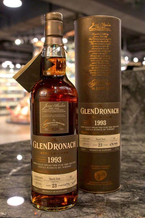 GLENDRONACH 1993 23 years 格蘭多納 1993 雪莉桶 單桶 LMDW 60週年版 (700ml 51.7%)