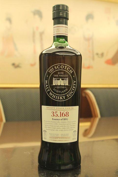 (現貨) SMWS 35.168 Glen Moray 15 years 格蘭莫雷 單桶原酒 15年 蘇格蘭威士忌協會 (700ml 60.4%)