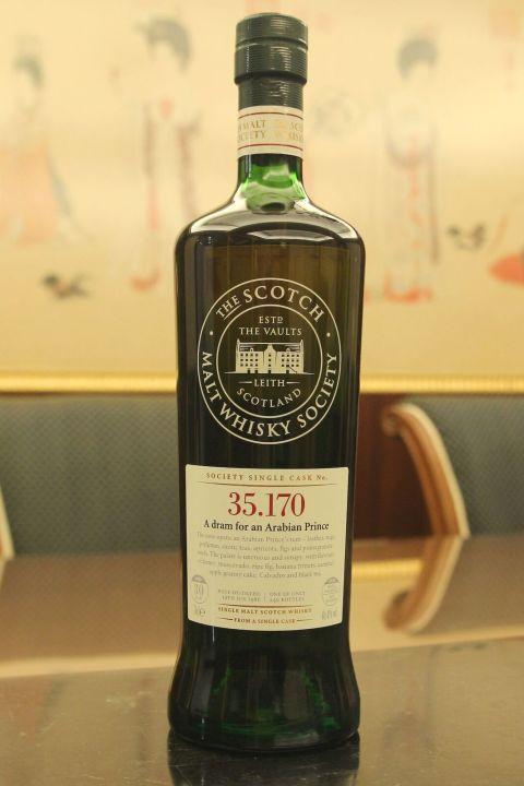 (現貨) SMWS 35.170 Glen Moray 30 years 格蘭莫雷 單桶原酒 30年 蘇格蘭威士忌協會 (700ml 46.4%)
