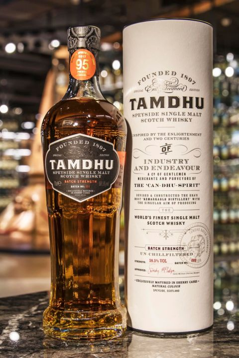 Tamdhu Sherry Cask Strength Batch No.002 坦杜 2版 雪莉原酒 (700ml 58.5%)