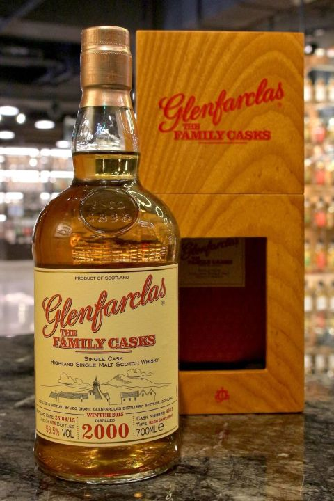 (現貨) Glenfarclas 2000 The Family Casks 格蘭花格 2000 家族桶 (700ml 58.5%)