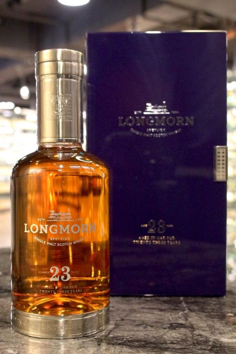 (現貨) Longmorn 23 years 朗摩 23年 單一麥芽威士忌 (700ml 48%)