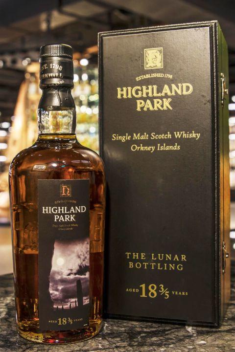Highland Park 18 3/5 years Lunar Bottling 高原騎士 18 3/5 年 Lunar限量瓶 (700ml 45.1%)