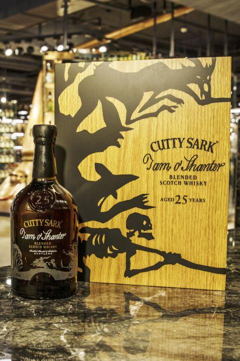 (現貨) Cutty Sark 25 years Tam O'Shanter Blended Whisky 順風 25年 調和威士忌 限量版 (700ml 46.5%)