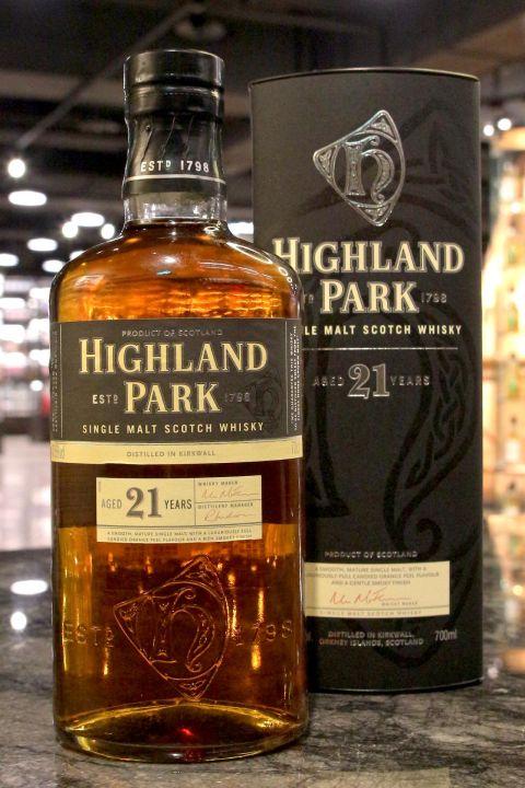 (現貨) Highland Park 21 years 高原騎士 21年 WWA年度最佳單一麥芽威士忌 (700ml 47.5%)