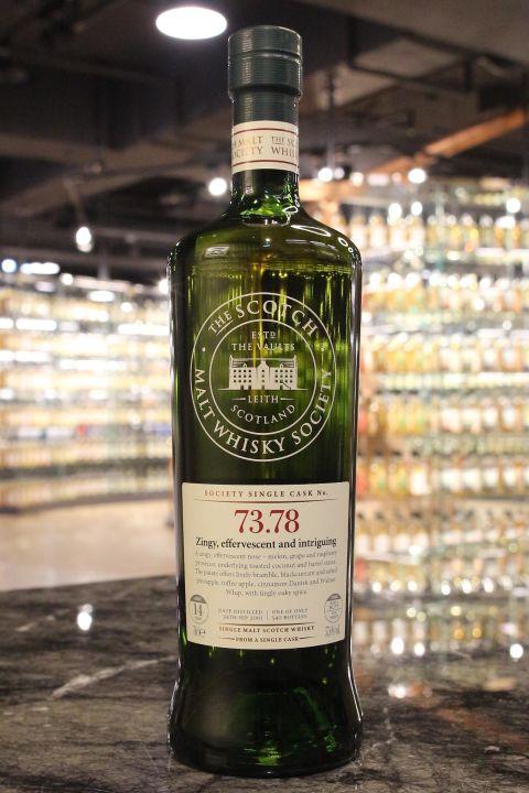 (現貨) SMWS 73.78 Aultmore 14 years 雅墨 單桶原酒 14年 蘇格蘭威士忌協會 (700ml 57.6%)