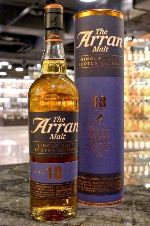 ARRAN 18 years Single Malt Whisky 愛倫 18年 單一麥芽威士忌 (700ml 46%)