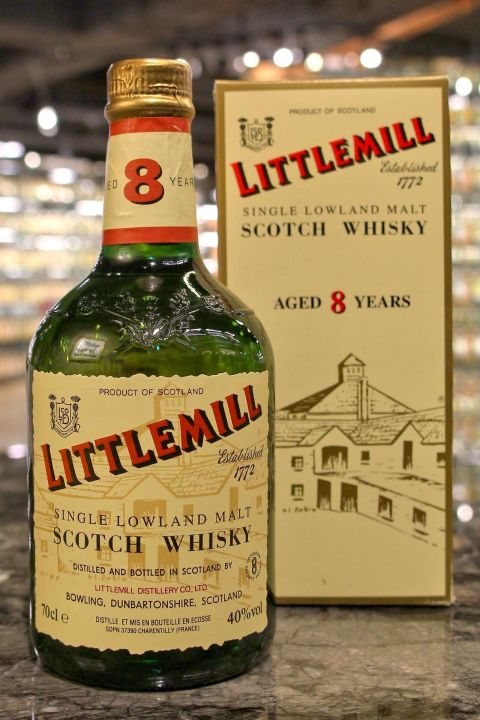 (現貨) Littlemill 8 years Single Malt Whisky 小磨坊 8年 單一麥芽威士忌 (700ml 40%)