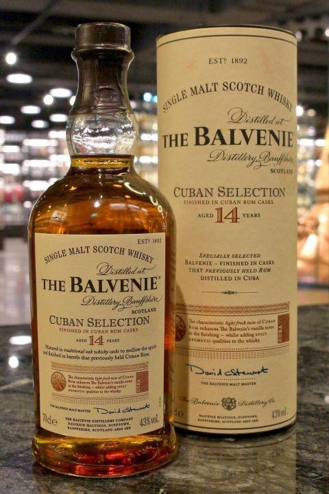 The BALVENIE 14 years Cuban Selection 百富 14年 古巴精選蘭姆桶 (700ml 43%)