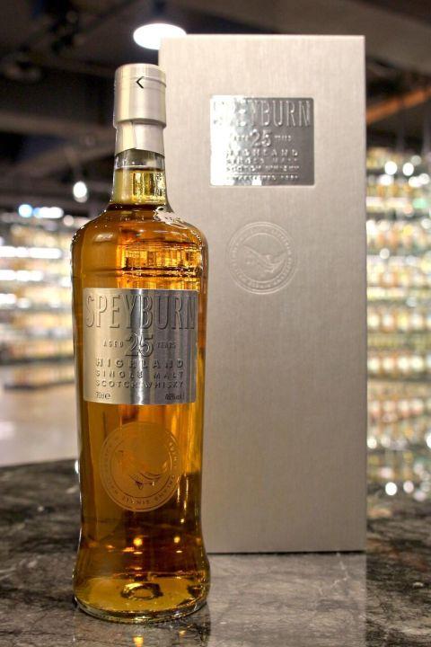 (現貨) Speyburn 25 years 詩貝奔 25年 單一麥芽威士忌 (700ml 46%)