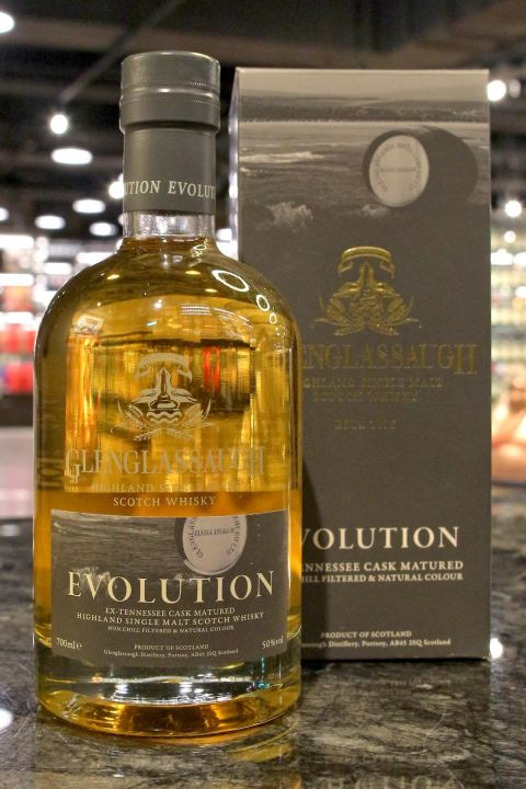 (現貨) Glenglassaugh Evolution Ex-Tennessee Cask 格蘭格拉索 Evolution (700ml 50%)