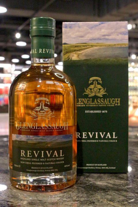 Glenglassaugh Revival 格蘭格拉索 光榮 單一麥芽威士忌 (700ml 46%)