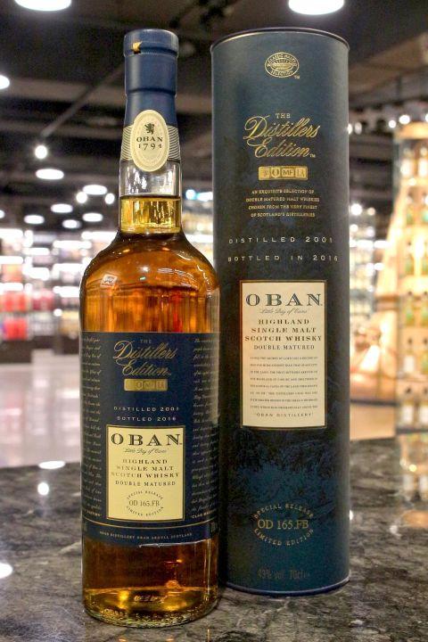 (現貨) Oban 2001 - Distillers Edition 2016 歐本 酒廠限定版 (700ml 43%)
