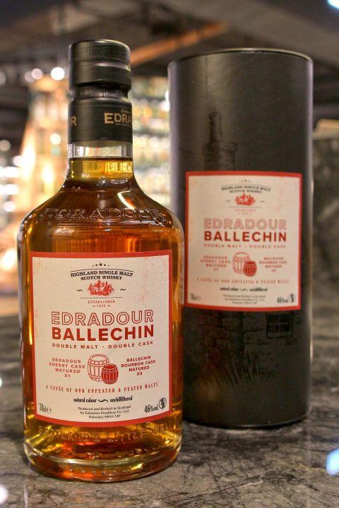 (現貨) EDRADOUR Ballechin Double Malt Double Cask 艾德多爾 LMDW 60週年版 (700ml 46%)