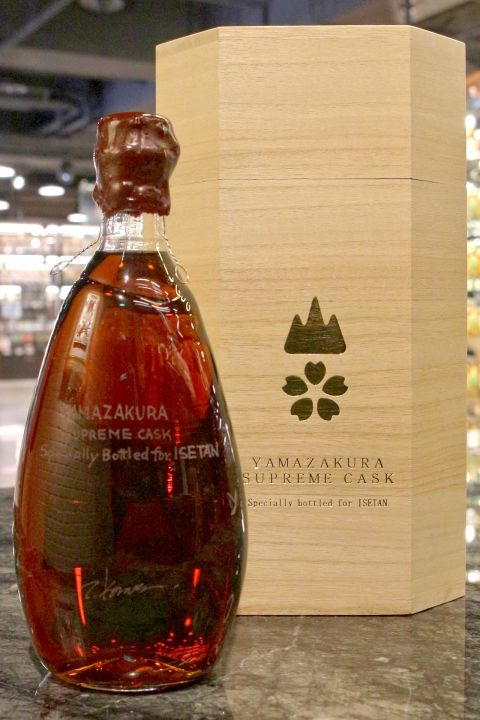 (現貨) Yamazakura Rare Old Supreme Cask for Isetan 山櫻 至尊珍藏 伊勢丹限定 (700ml 56%)