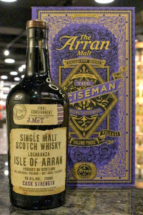 (現貨) Arran Smugglers' Series Vo.3 - The Exciseman愛倫 走私者 第三版 (700ml 56.8%)