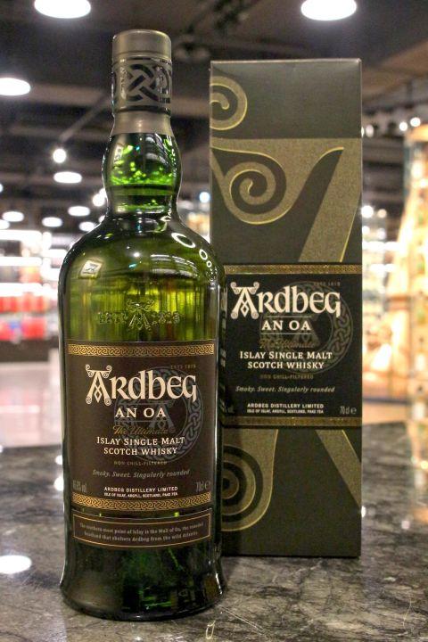 (現貨) Ardbeg AN OA 雅柏 AN OA 單一純麥威士忌 (700ml 46.6%)