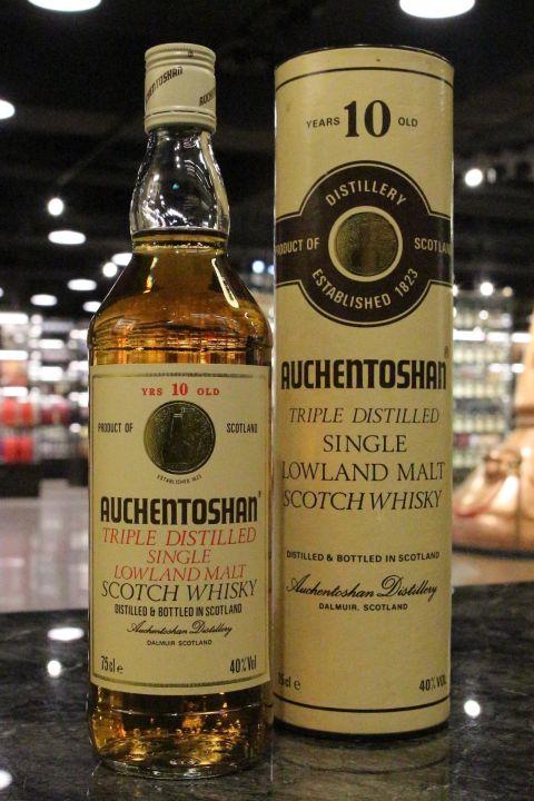 (現貨) Auchentoshan 10 Years Bottled 1980s 歐肯特軒 10年 舊版 旋蓋瓶 (750ml 40%)