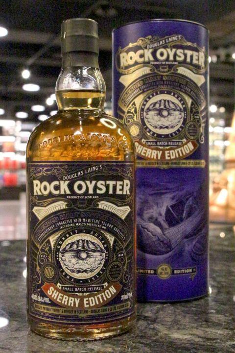 (現貨) Douglas Laing's Rock Oyster Sherry Edition 道格拉斯蘭恩 牡蠣岩 雪莉桶限量版 (700ml 46.8%)