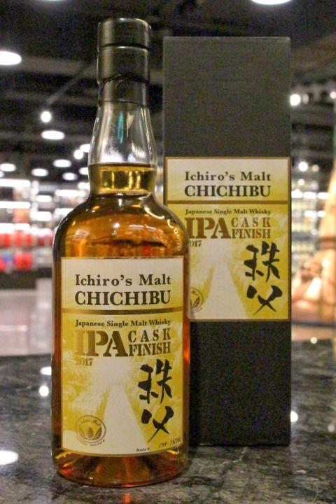(現貨) Chichibu IPA Cask Finish 2017 秩父 IPA啤酒風味桶 2017版 (700ml 57.5%)
