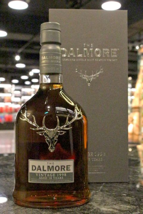(現貨) Dalmore 1998 18 years Vintage Port Collection 大摩1998 18年 年份波特桶系列 (700ml 44%)