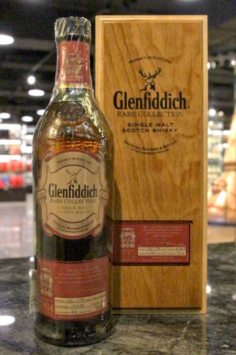 (現貨) Glenfiddich 1964 Rare Collection 格蘭菲迪 1964 單桶 (700ml 41.4%)