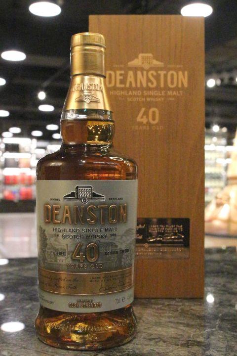 (現貨) Deanston 40 years 汀士頓 40年 單一麥芽威士忌 原酒 (700ml 45.6%)