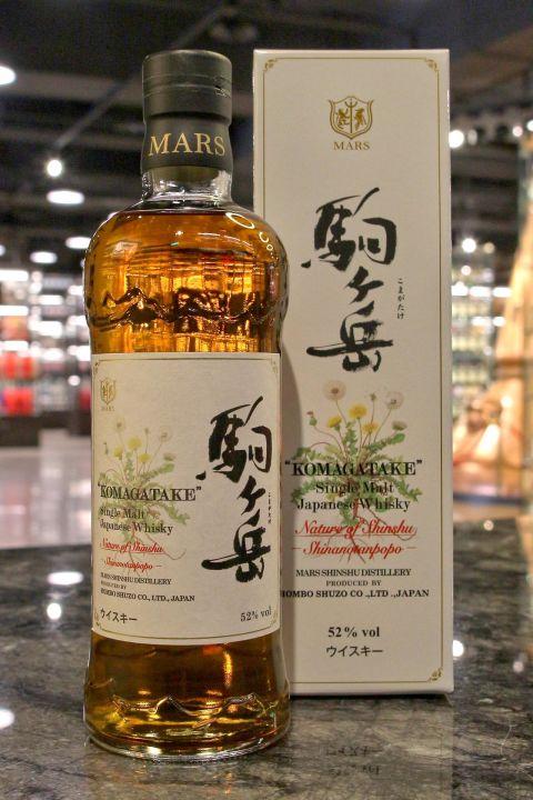 (現貨) Mars Whisky KOMAGATAKE Shinanotanpopo 駒之岳 花卉系列 信濃蒲公英 (700ml 52%)