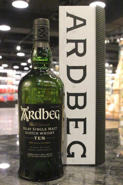 Ardbeg 10 Years Warehouse Pack 雅柏 10年 倉庫鐵盒版 (700ml 46%)