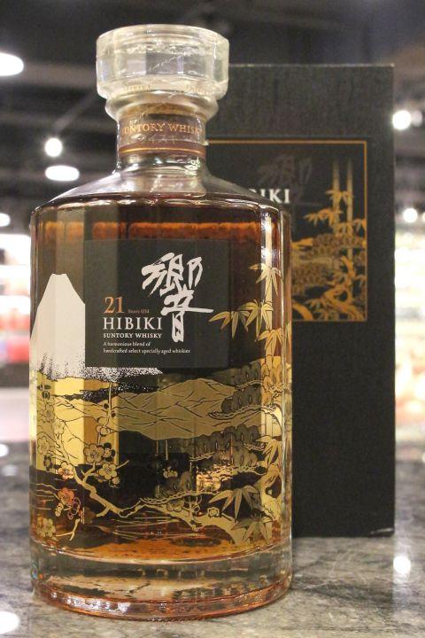 (現貨) Hibiki 21 Years Special Edition 響 21年 機場花鳥風月特別版 (700ml 43%)