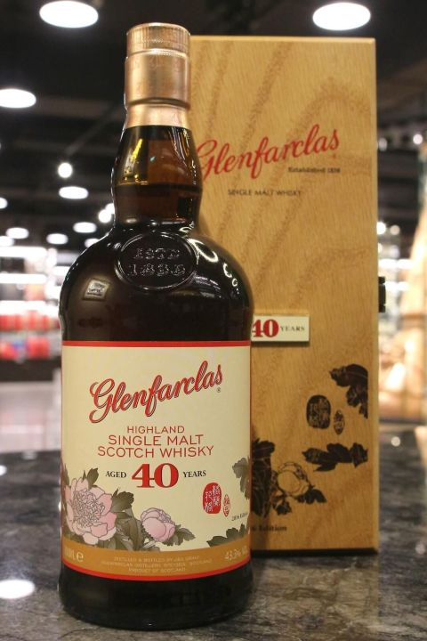 (現貨) Glenfarclas 40 years Chrysanthemum 2016 Edition 格蘭花格 40年 台灣限定版 菊花 (700ml 43.3%)