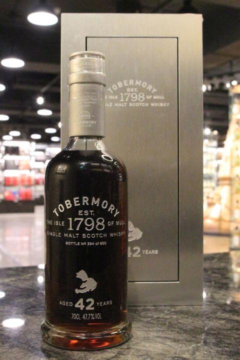 (現貨) Tobermory 42 Years 托本莫瑞 42年 單一純麥威士忌 (700ml 47.7%)