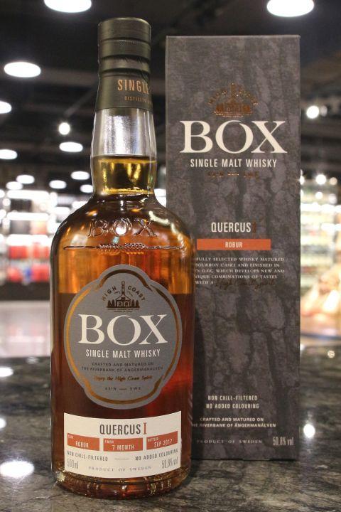 (現貨) BOX QuercusⅠ- Robur 瑞典盒子 映•橡系列 瑞典紅橡木桶 (500ml 50.8%)