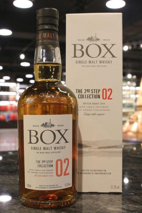 (現貨) BOX The 2nd Step Collection 02 瑞典盒子 尋旅系列 第二版 (500ml 51.2%)