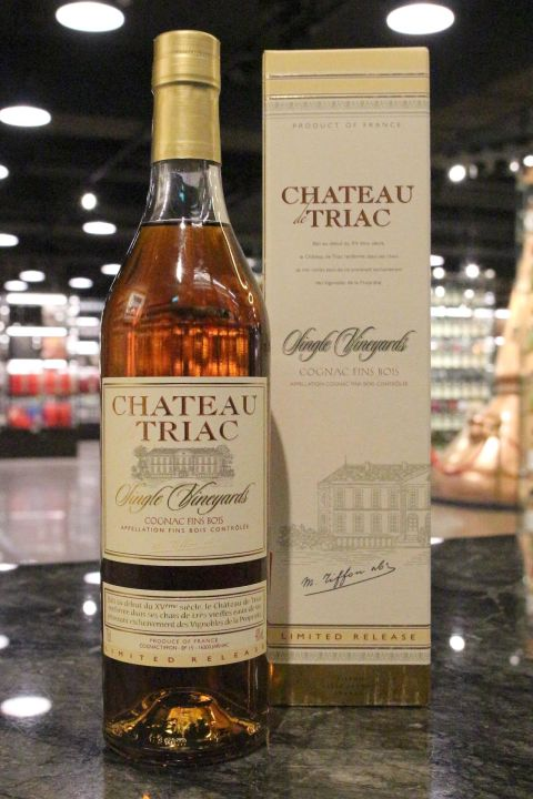 (現貨) TIFFON Single Vineyard - Château de Triac Cognac 帝峯 單一酒莊精選干邑 (700ml 40%)