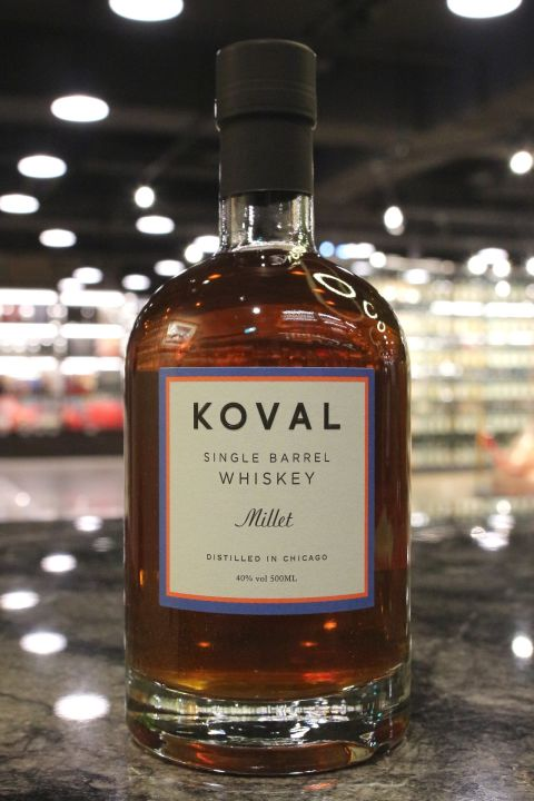 Koval Millet Single Barrel Whiskey 科沃 美國小米威士忌 (500ml 40%)