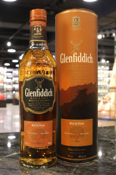 Glenfiddich 14 years Rich Oak 格蘭菲迪 14年 Rich Oak (700ml 40%)