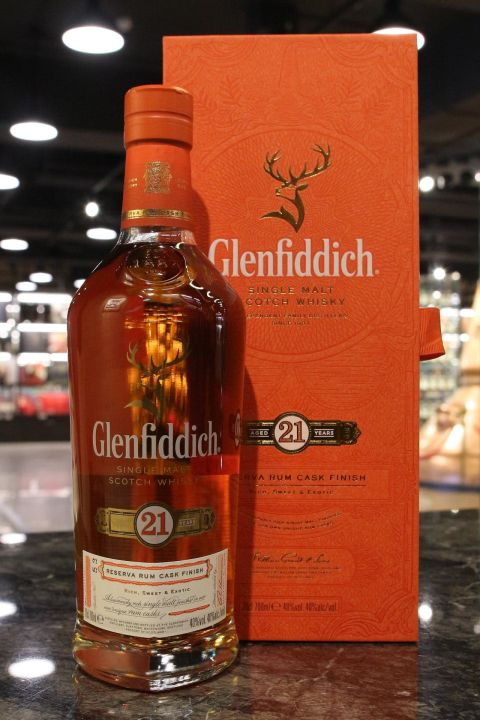 (現貨) Glenfiddich 21 years Gran Reserva 格蘭菲迪 21年 新版 (700ml 40%)
