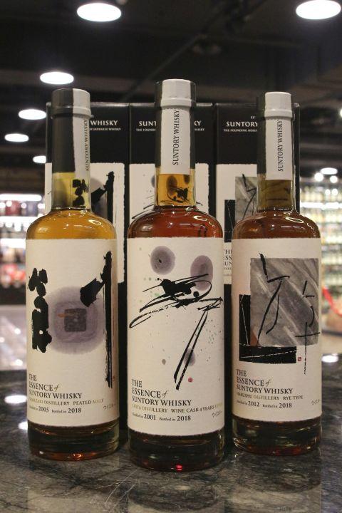 (現貨) The Essence of Suntory Whisky 三得利 創.遊.夢 限量原酒系列 (500ml*3 ,49~57%)