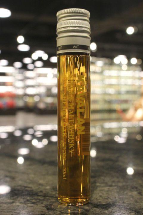 (現貨) KAVALAN Fino Sherry Oak Miniature 噶瑪蘭 Fino雪莉桶威士忌 試管酒 (50ml 54%)