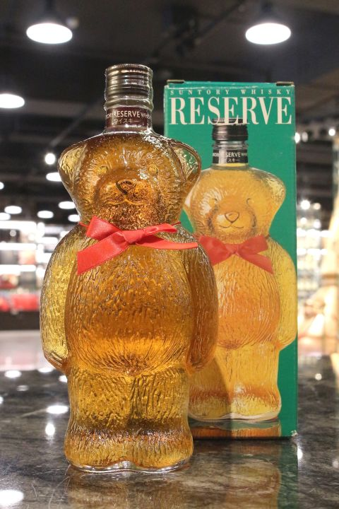 Suntory Reserve Whisky Bear Bottle 三得利 禮藏威士忌 大熊瓶 (600ml 43%)