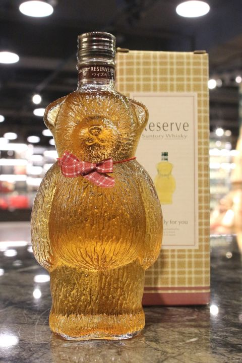 Suntory Reserve Whisky Bear Bottle 三得利 禮藏威士忌 小熊瓶 (300ml 43%)