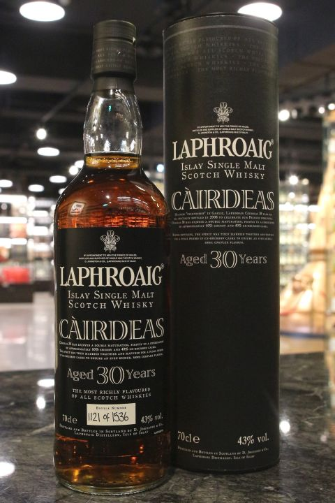 (現貨) LAPHROAIG Càirdeas 30 years 拉佛格 Càirdeas 30年 (700ml 43%)
