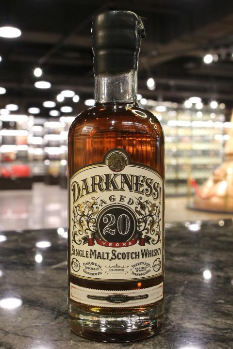 (現貨) Darkness! Tomintoul 20 years Oloroso Cask Finish 都明多 20年 (500ml 49.9%)