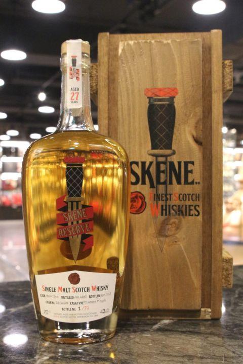 (現貨) SKENE - Macallan 27 Years 1990 Single Cask 麥卡倫 27年 單桶原酒  (700ml 42.4%)