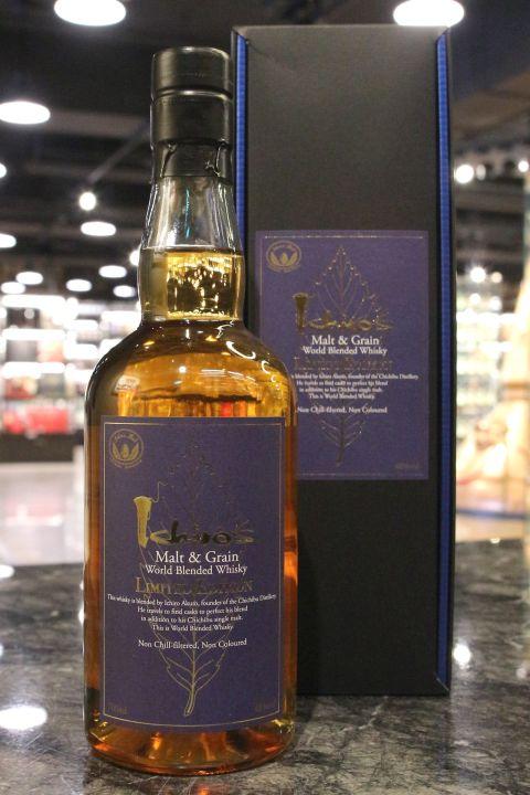 CHICHIBU Ichiro's Malt & Grain World Blended Whisky 秩父 藍葉 (700ml 48%)