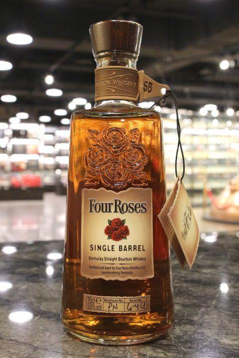 Four Roses Single Barrel Straight Bourbon 四玫瑰 單桶 美國波本威士忌 (700ml 50%)
