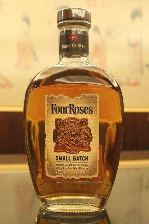 Four Roses Small Batch Straight Bourbon 四玫瑰 小批次 美國波本威士忌 (700ml 45%)